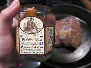 Got this stuff at the Scottish Highland Games last year.