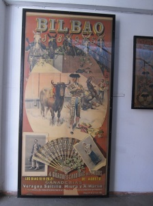 The Bullfighting Museum has posters from fights as long ago as 1895, and up to today.