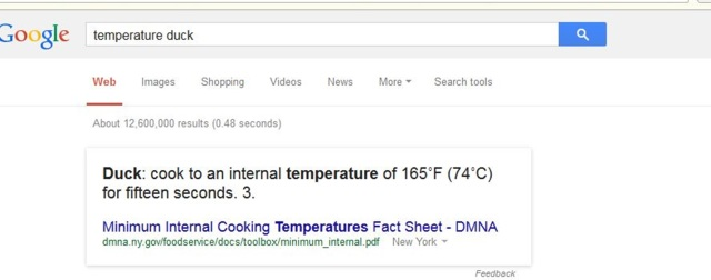 Google knows all!