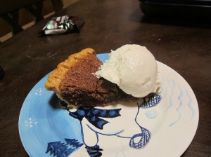 Goes quite delightfully with this pie, which will be on the blog next!